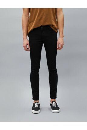 Koton Erkek Siyah Jean Pantolon 2