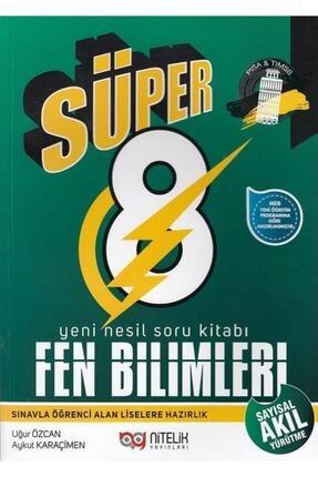 Nitelik Yayınları 8.Sınıf Yeni Nesil Süper Fen Bilimleri Soru Kitabı 2019  Aykut Karaçimen - Uğur Özcan 0