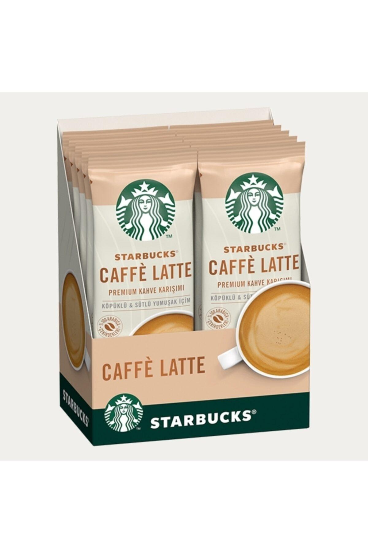 Starbucks Caffe Latte Sınırlı Üretim Premium Kahve Karışımı Seti  10 Adet