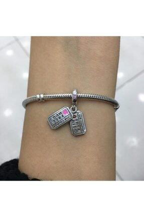 My Story Aşk Kuponu Sallantılı Gümüş Charm 1