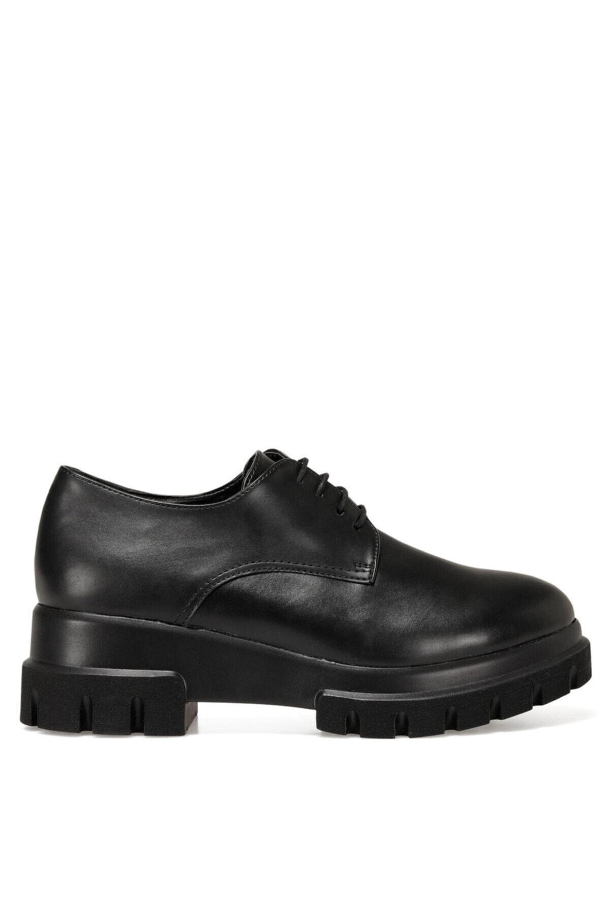 HELLE Siyah Kadın Oxford Ayakkabı 100555738