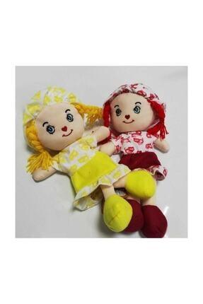 Ercan Oyuncak Renkli Elbiseli Bez Bebek 45 Cm 1