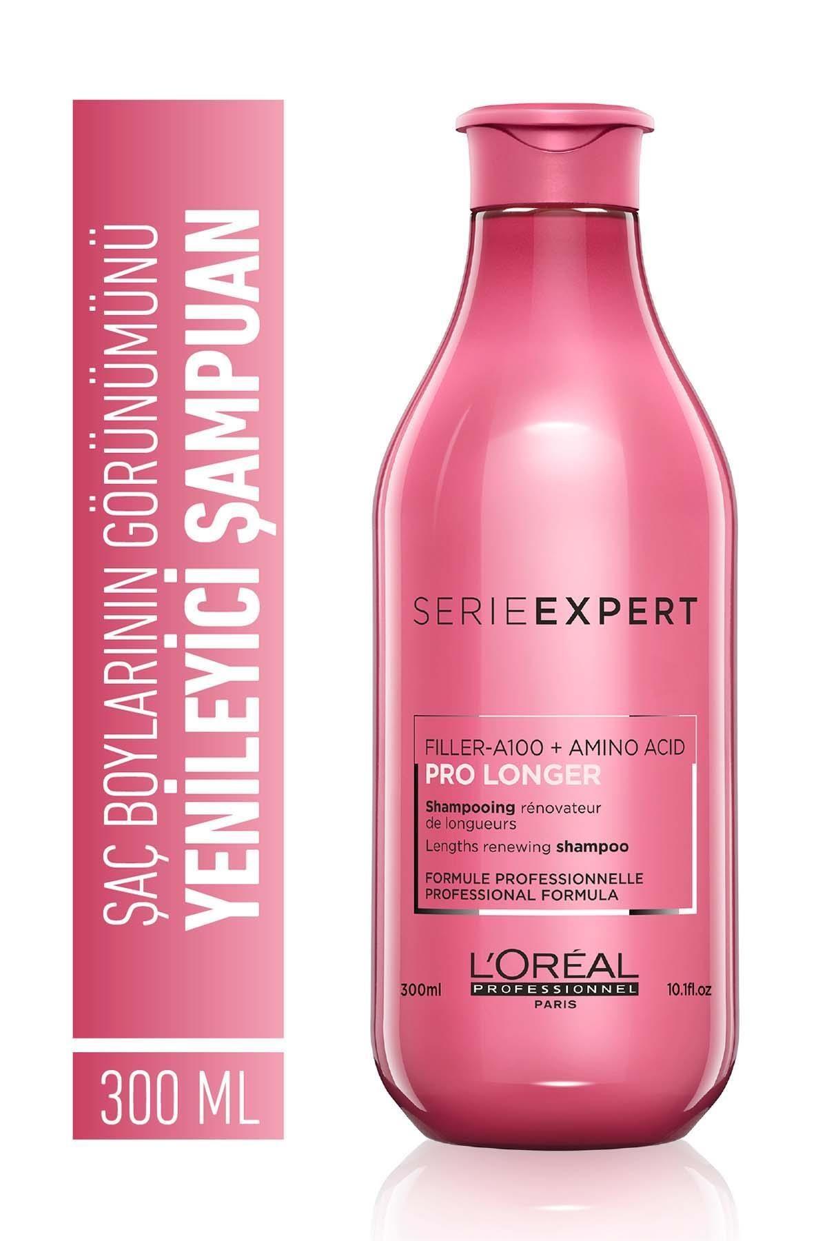 Serie Expert Pro Longer Saç Boylarının Görünümünü Yenileyici Şampuan 300 Ml