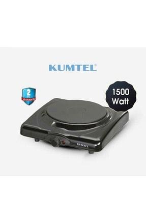 KUMTEL Lx-7115 Siyah Tekli Elektrikli Ocak Ayarlanabilir Termostatlı Elektrikli Ocak 1
