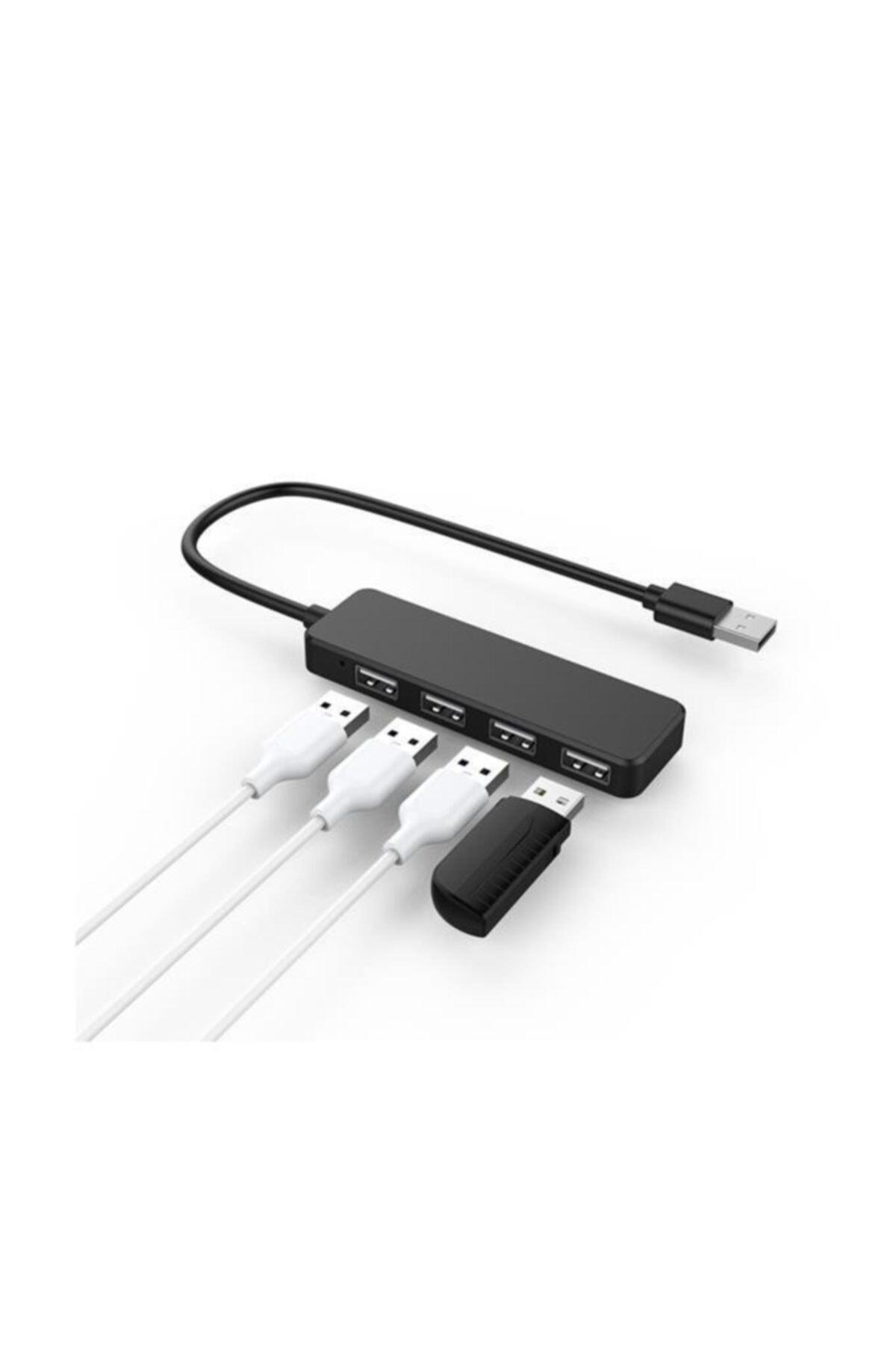 4 Port Usb 2.0 Hub Çoklayıcı Çoğaltıcı Çoklama Switch Splitter Ultra Slim