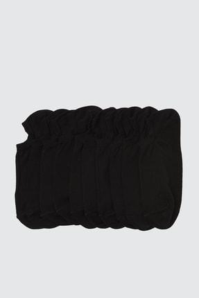 TRENDYOL MAN Siyah 5'li Paket Suba Spor Çorap TMNSS20CO0022 0