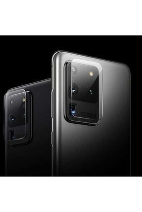 Samsung Galaxy S20 Ultra Uyumlu Kamera Lens Koruyucu Hd Ince Yüksek Kalite Cam Filmi 3