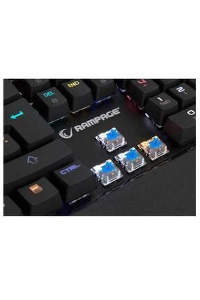 Rampage Kb-r95 X-tıtan Usb Full Rgb Led Mavi Switch Profesyonel Oyuncu Klavyesi 3