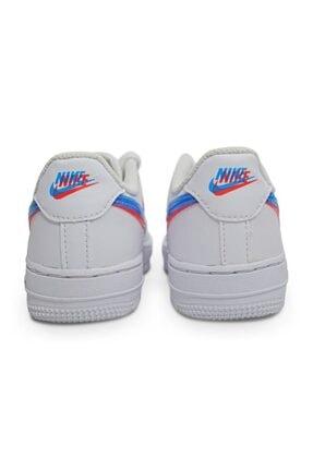 Nike Force 1 Lv8 / Cj7160-100 Spor Ayakkabı 2