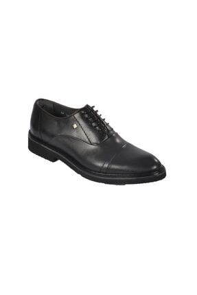 تصویر از 1070 Siyah Erkek Hakiki Deri Klasik Ayakkabı