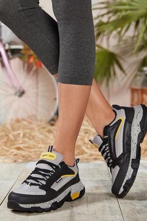 Dark Seer Buz Siyah Unisex Sneaker 4