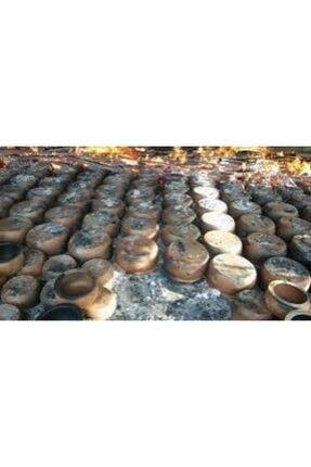 Arslantaş El Yapımı Toprak Küçük Boy 2-3 Kişilik (23cm) Güveç + Kapak Hediyeli 2