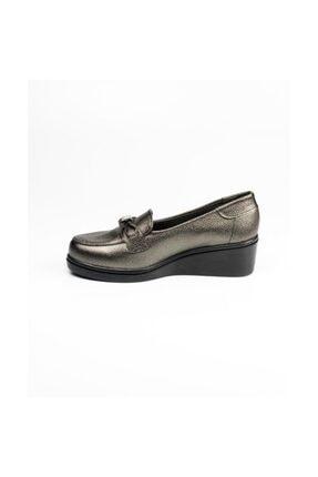 Polaris Gümüş Kadın Günlük Ayakkabı 1