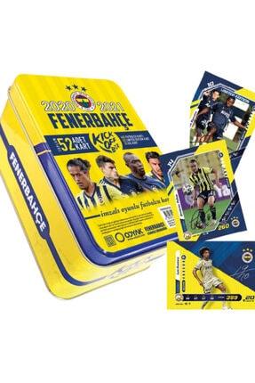 ODYAK Fb Fenerbahçe 2020-2021 Lisanslı Imzalı Sezon Taraftar Futbolcu Oyuncu Futbol Kartları Kick Off Box 1