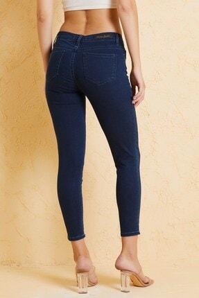 Twister Jeans Kadın  Mavi Çok Yüksek Bel Pantolon Eva 9028-88 3