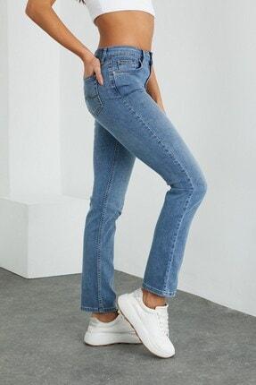 VENA Gabrıel Kadın Med Blue Denim Pantolon 4