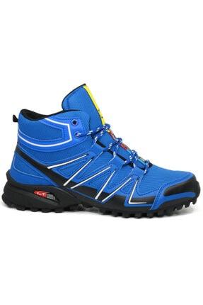 Ayakkabix Erkek Mavi Kışlık Ayakkabı Bot 1