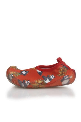 Newborn Unisex Çocuk Kırmızı Deniz Ayakkabısı 1