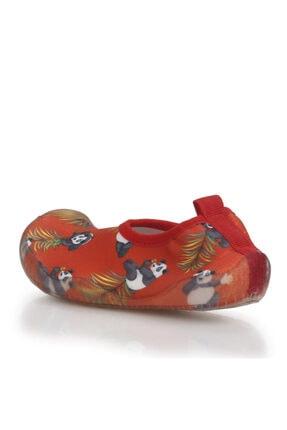 Newborn Unisex Çocuk Kırmızı Deniz Ayakkabısı 3