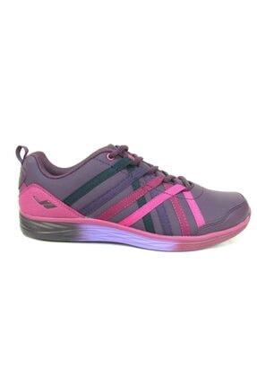 Lescon Kadın   Spor Ayakkabı L4129 Mürdüm Helium Lifestyle 1