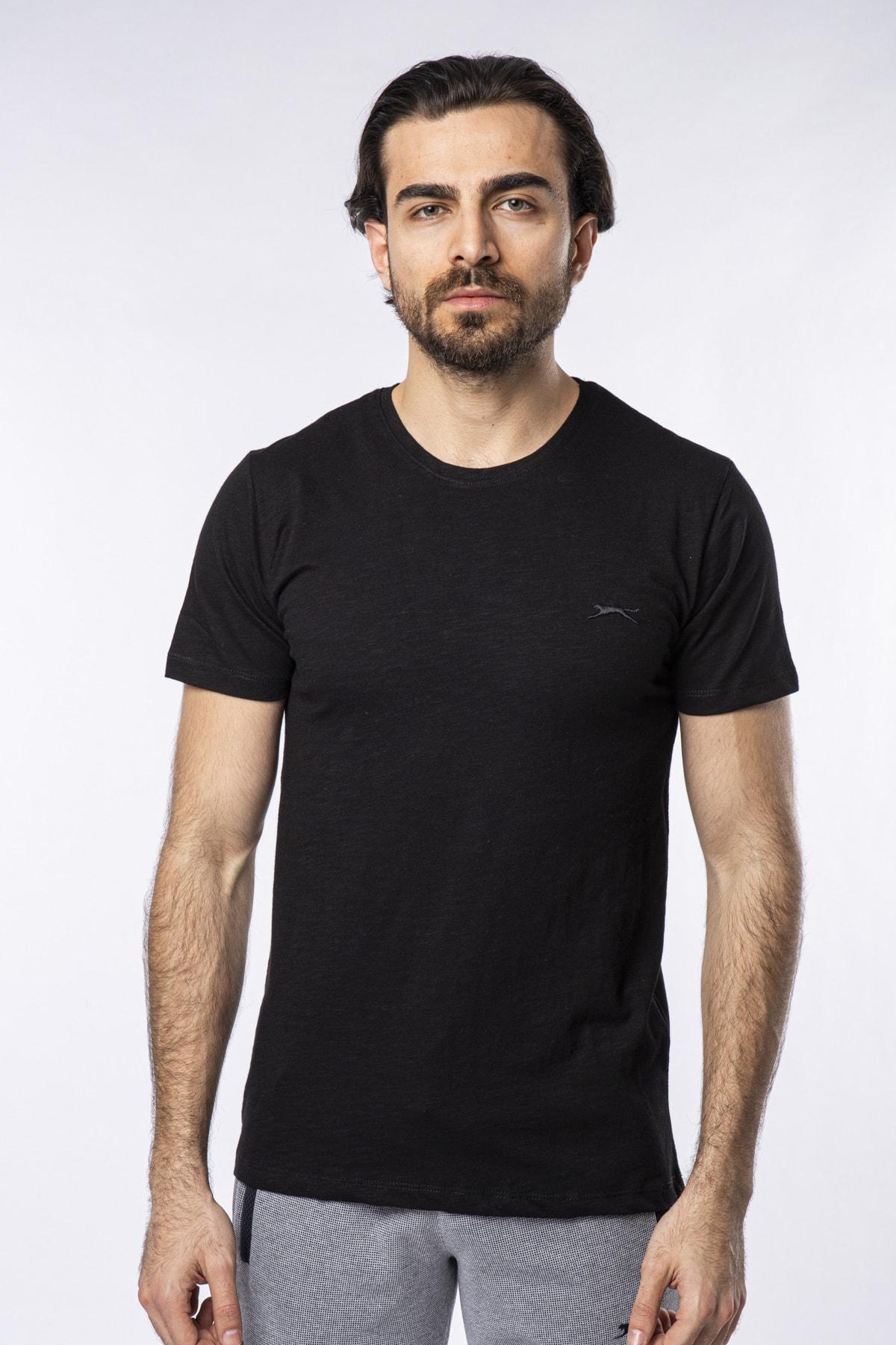 Sand Erkek T-shirt Siyah St11te123