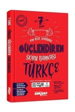 Ankara Yayıncılık 7. Sınıf Türkçe Güçlendiren Soru Bankası 0