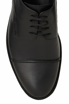 Altınyıldız Classics Erkek Siyah Klasik Deri Ayakkabı 3