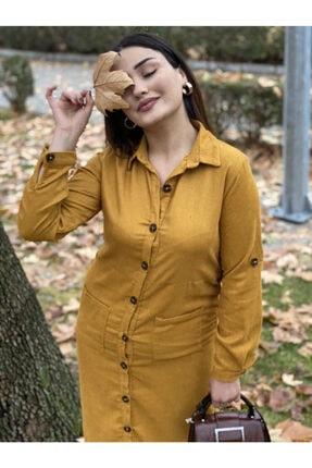 Kadın Kadife Elbise kadife