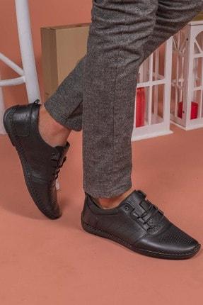 Yağlıoğlu Kundura Erkek Hakiki Deri Topuk Jelli Çarık Ayakkabısı 2