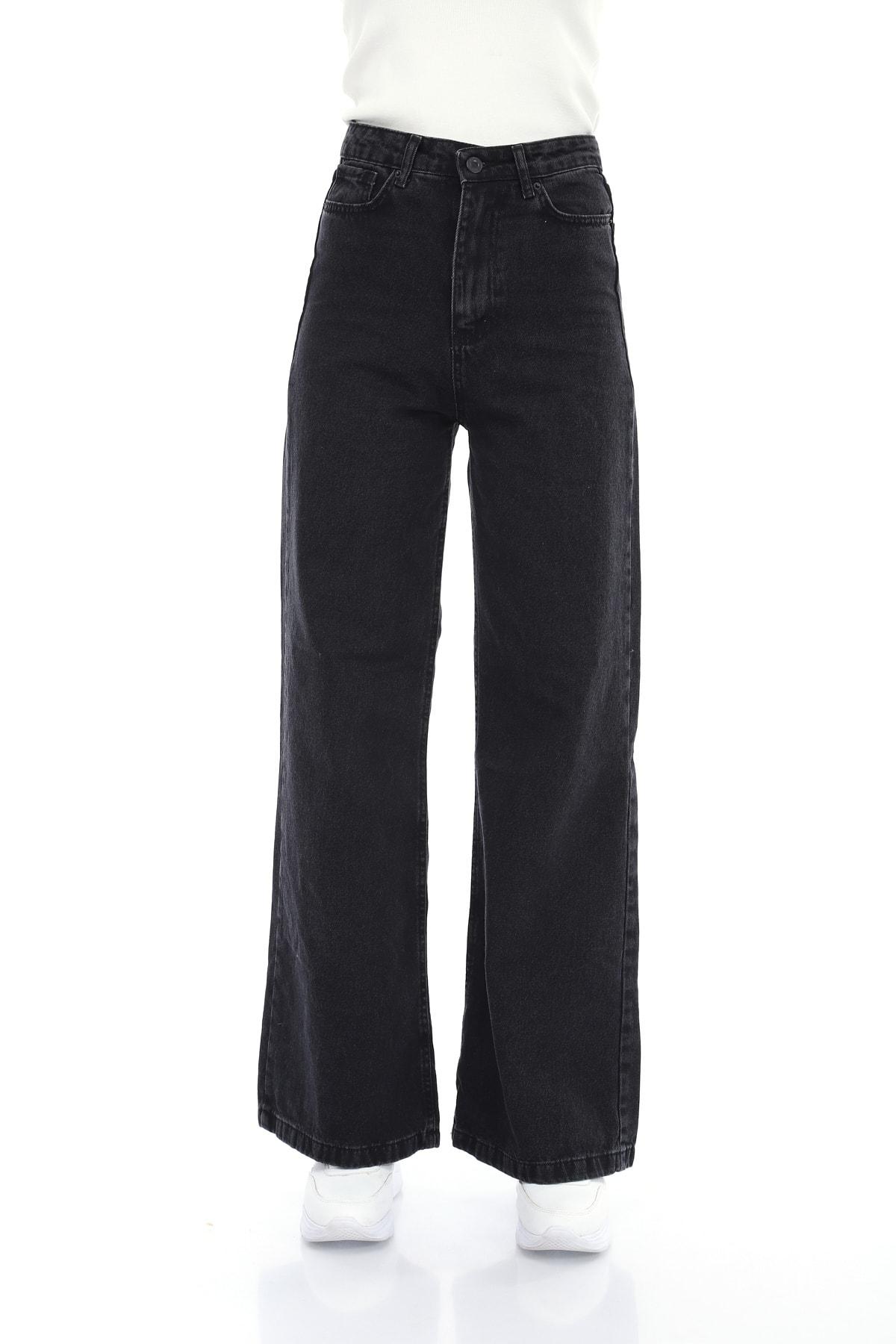 Füme Bol Paça Jeans