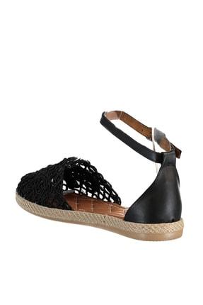 Soho Exclusive Siyah Kadın Sandalet 15046 4