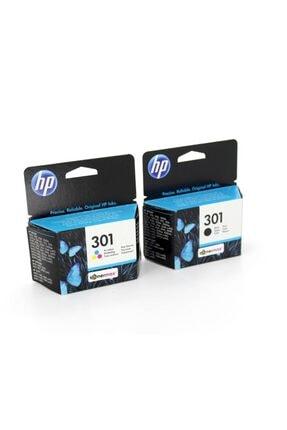 HP 301 N9j72ae 2'li Paket Orjinal Kartuş 0
