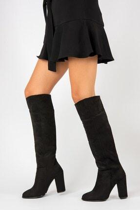Fox Shoes Siyah Kadın Çizme G922920502 0