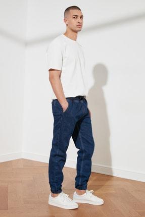 TRENDYOL MAN Lacivert Erkek Relax Fit Jogger Jeans TMNSS21JE0119 0