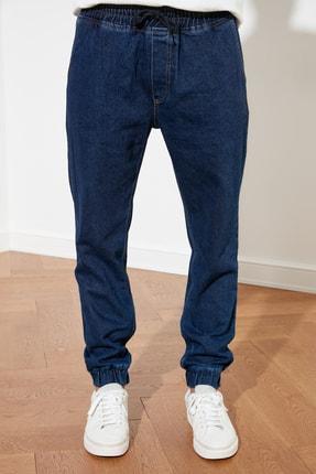 TRENDYOL MAN Lacivert Erkek Relax Fit Jogger Jeans TMNSS21JE0119 1