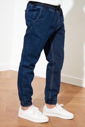 TRENDYOL MAN Lacivert Erkek Relax Fit Jogger Jeans TMNSS21JE0119 4