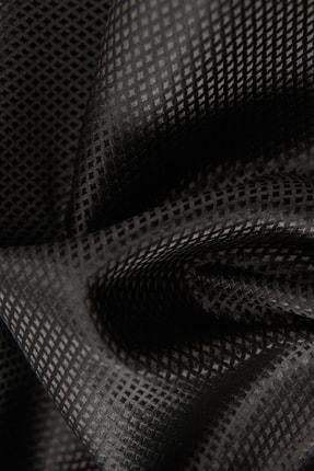 Altınyıldız Classics Erkek Siyah Nano Kravat-Mendil Set 1