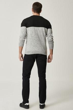 Altınyıldız Classics Erkek Siyah Kanvas Slim Fit Dar Kesim 5 Cep Pantolon 3