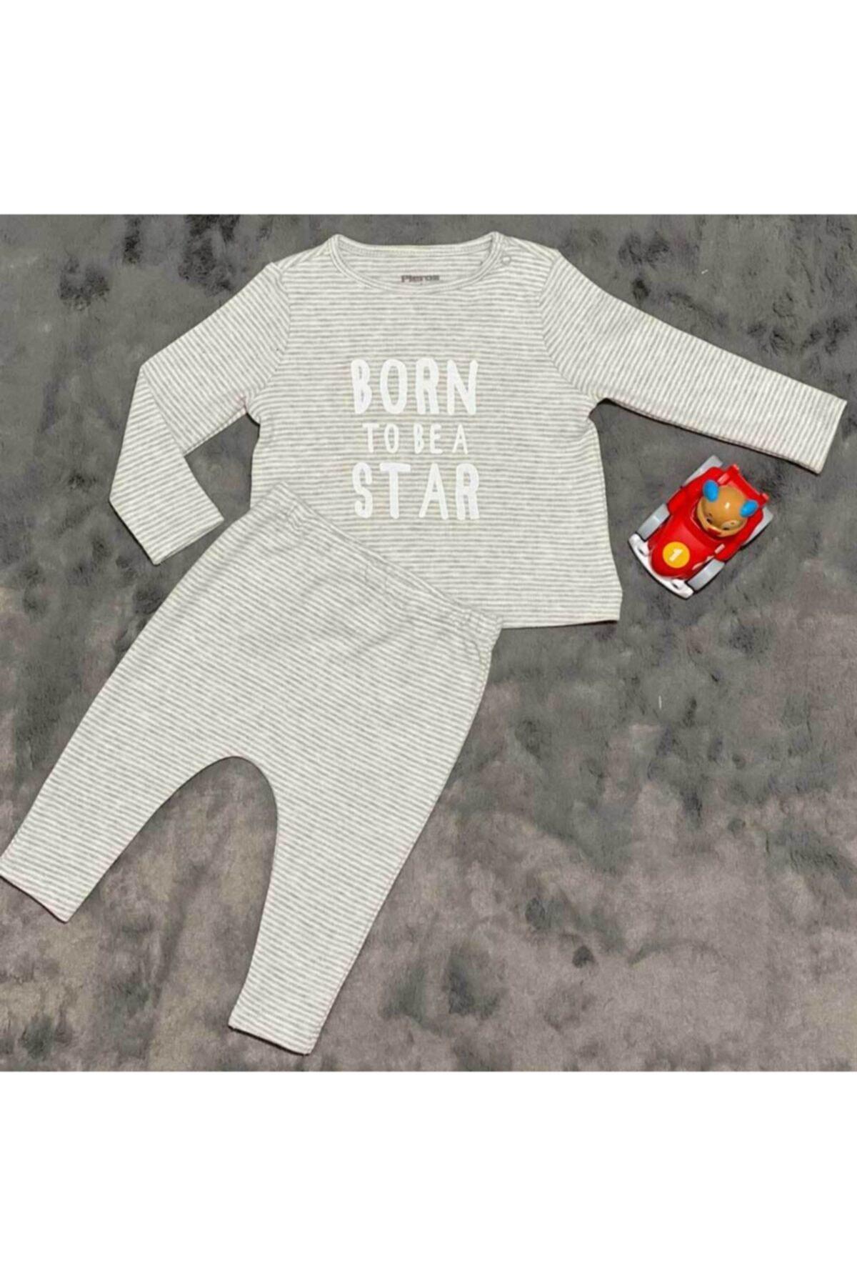 Pieros Baby 0020 Erkek Bebek 2'li Takım