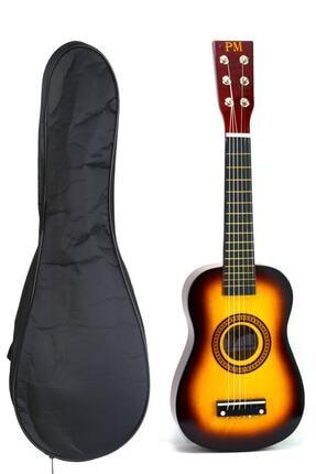PM Çocuk Gitar 3-4 Yaş Için Kılıf Ve Pena Hediyeli 0
