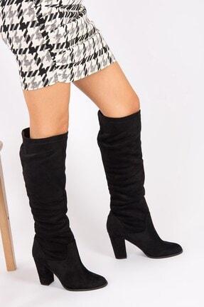 Fox Shoes Siyah Kadın Çizme G572443602 2