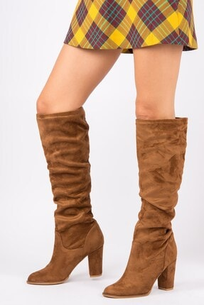 Fox Shoes Taba Kadın Çizme G572443602 0