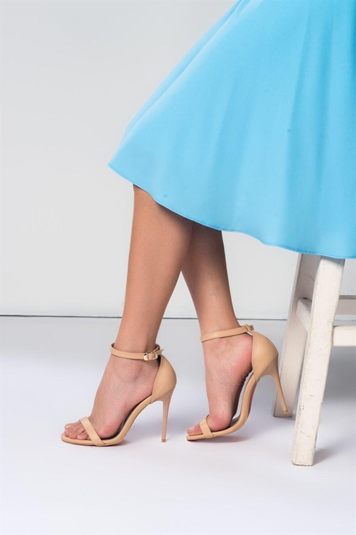 Ten Kadın Topuklu Ayakkabı B922112609