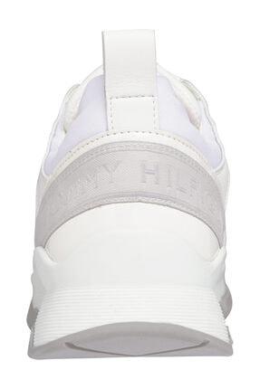 Tommy Hilfiger Kadın Beyaz Sneaker Sporty Chunky Deri Sneaker FW0FW05287 1