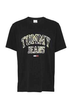Tommy Hilfiger Kadın Siyah T-Shirt Tjw Collegıate Floral Tee DW0DW09144 0