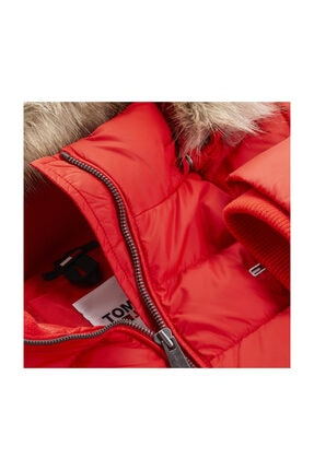 Tommy Hilfiger Tjw Basıc Hooded Down Jacket 3
