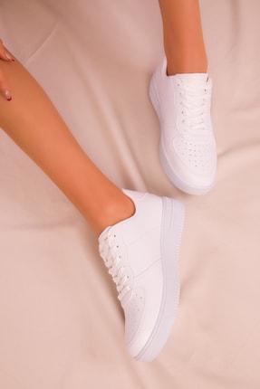 Soho Exclusive Beyaz Kadın Sneaker 14361 2