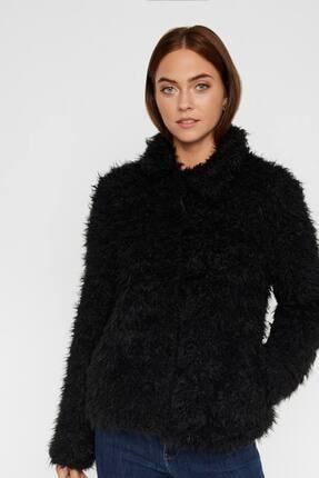 Vero Moda Kadın Siyah Suni Kürk 10217012 VMJAYLAMEG 0