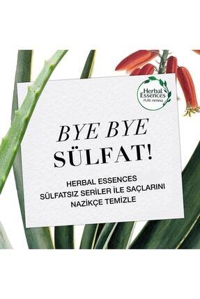 Herbal Essences Sülfatsız Aloe Bambu Şampuan 380 ml 2 Adet + Saç Kremi 275 ml 2