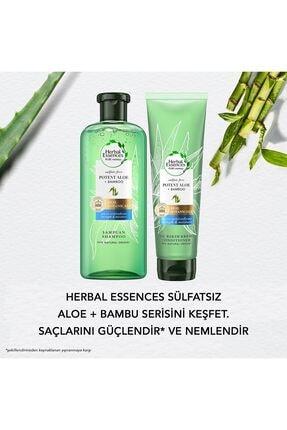 Herbal Essences Sülfatsız Aloe Bambu Şampuan 380 ml 2 Adet + Saç Kremi 275 ml 4